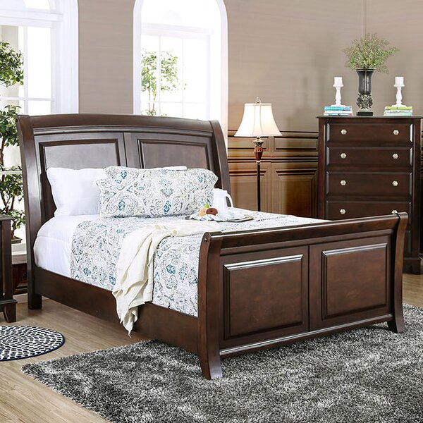 Luanne Sleigh Bed by Canora Grey