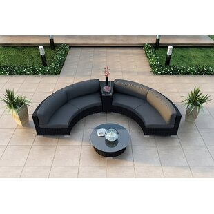 Looking for Urbana 4 Piece Sunbrella Sectional Set with Cushions by Harmonia Living