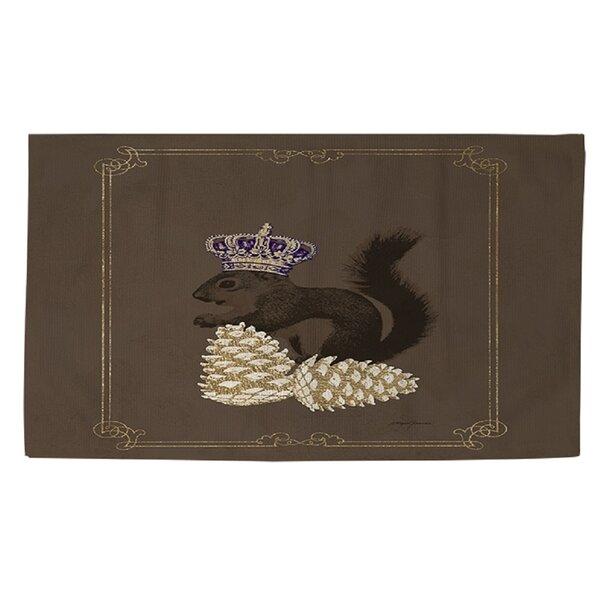 Luxury Lodge Squirrel Brown Area Rug by Manual Woodworkers & Weavers