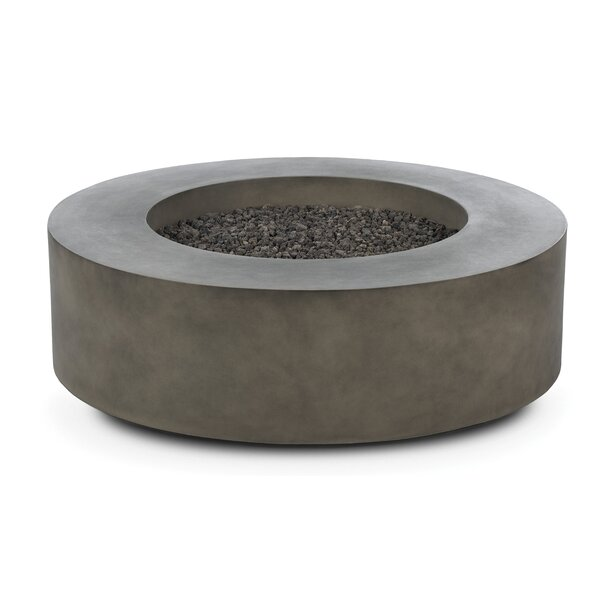 Erykah Concrete Propane/Natural Gas Fire Pit Table by Freeport Park