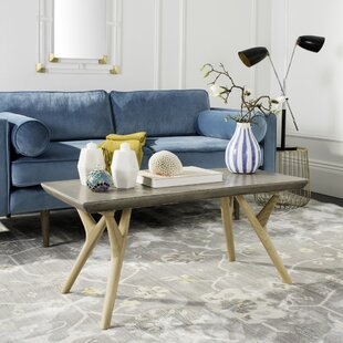 Online Reviews Ryker Concrete Coffee Table By Union Rustic