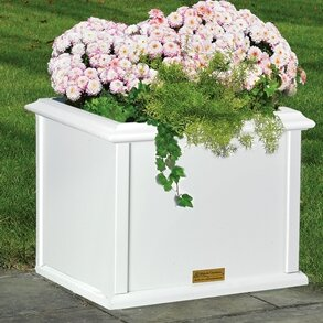 Charleston Plastic Planter Box by Good Directions