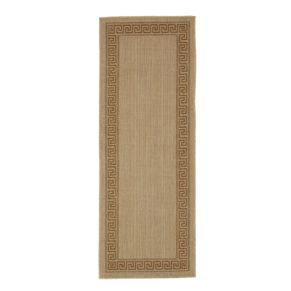 Plumeria Beige Indoor/Outdoor Area Rug by Bay Isle Home