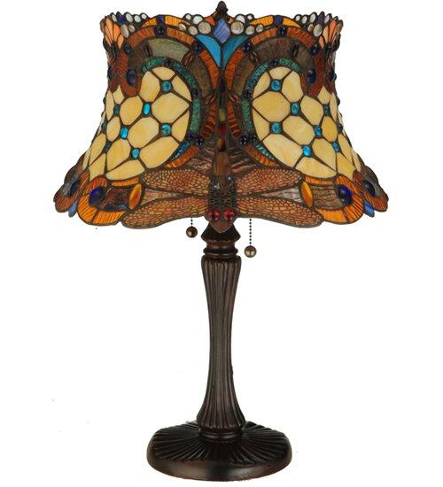 Tiffany Hanginghead Dragonfly 22.5 Table Lamp by Meyda Tiffany