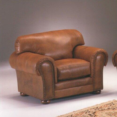 Cheyenne Leather Armchair by Omnia Leather