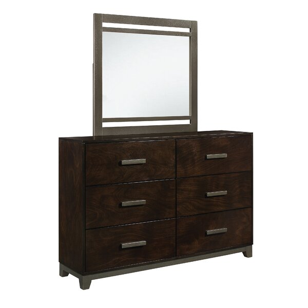 McMullen 6 Drawer Double Dresser by Red Barrel Studio