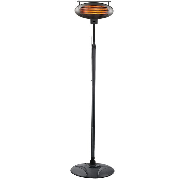 Freestanding 1500 Watts Electric Patio Heater by AZ Patio Heaters