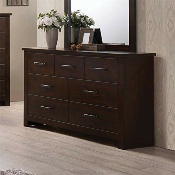 Ida Wooden 7 Drawers Double Dresser by Alcott Hill