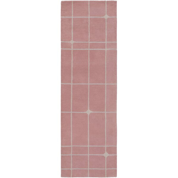 Mod Pop Hand-Tufted Pink Area Rug by Bobby Berk Home