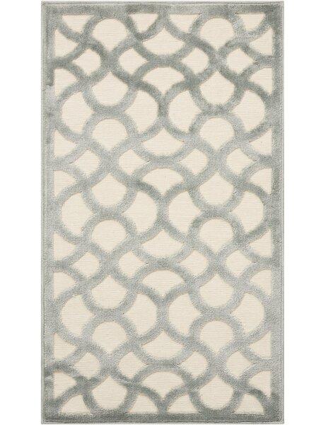 Blondelle Ivory/Aqua Area Rug by Willa Arlo Interiors
