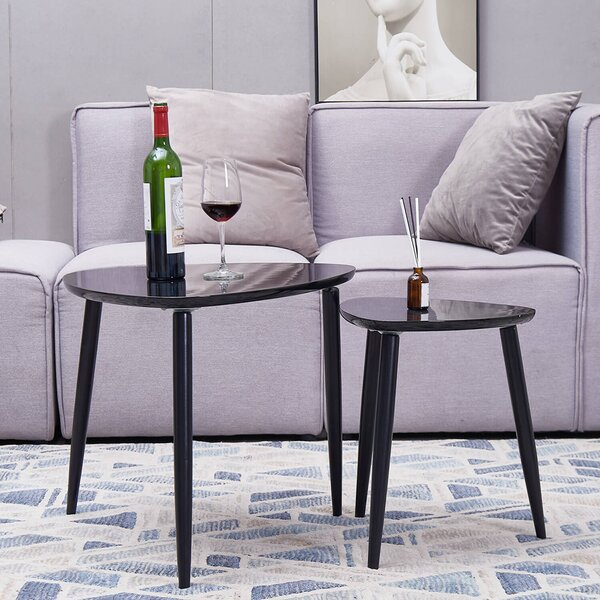 Zahra 3 Legs 2 Nesting Tables By George Oliver