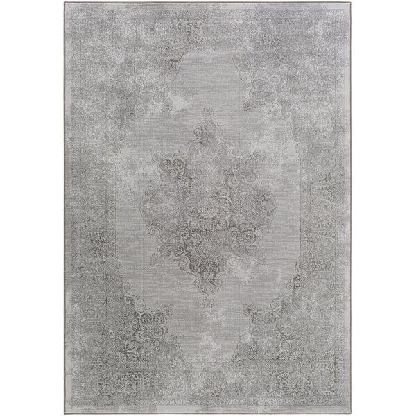 Jayson Tibetan Gray Area Rug by Ophelia & Co.