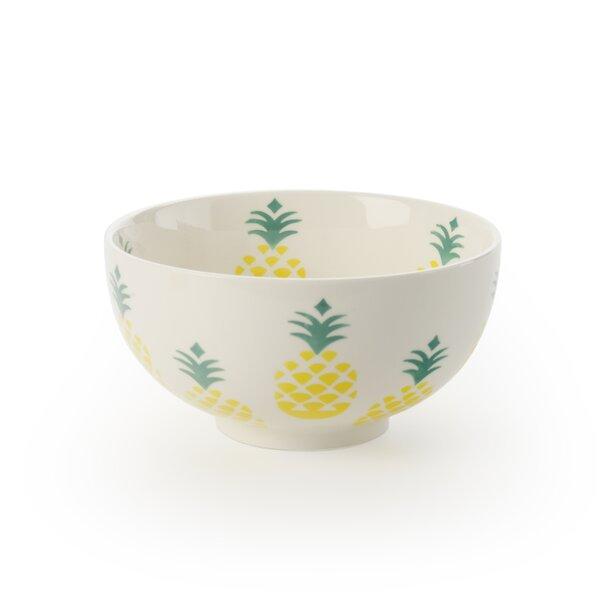 Valdez 28 oz. Pineapple Dessert Bowl (Set of 4) by Brayden Studio