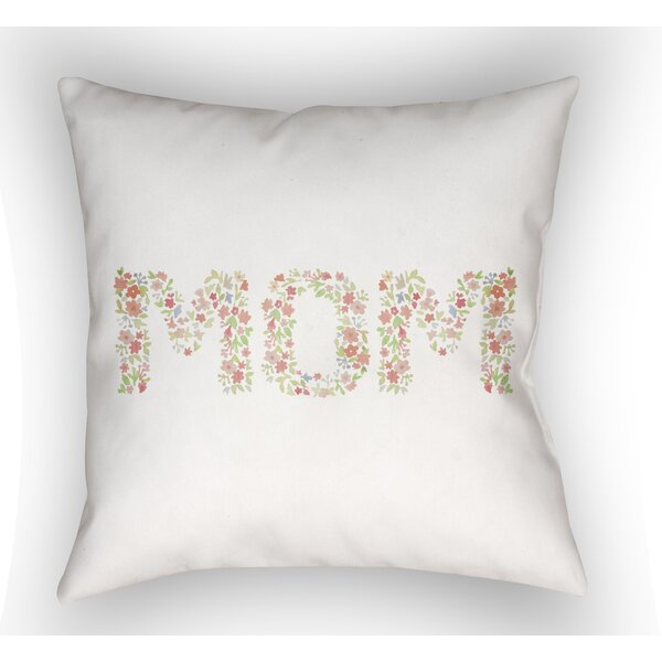 Tatham MOM Indoor/Outdoor Throw Pillow