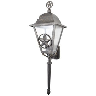 Online Reviews Penfield 3-Light Outdoor Sconce By Alcott Hill