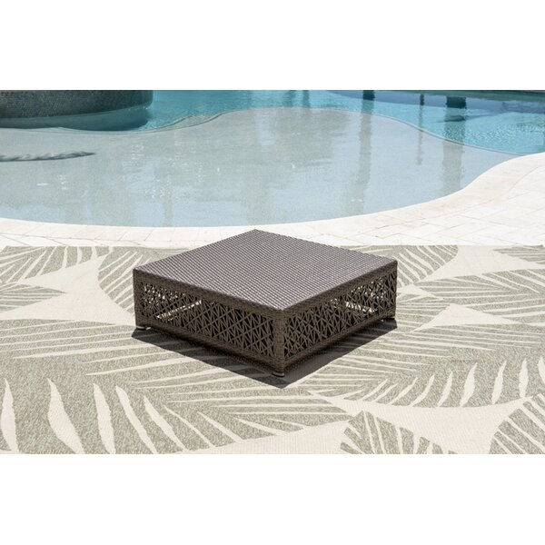 Maldives Glass Coffee Table by Panama Jack Outdoor Panama Jack Outdoor