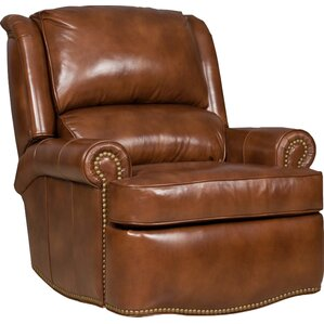 Stellan Leather Wall Hugger Recliner by Brad..
