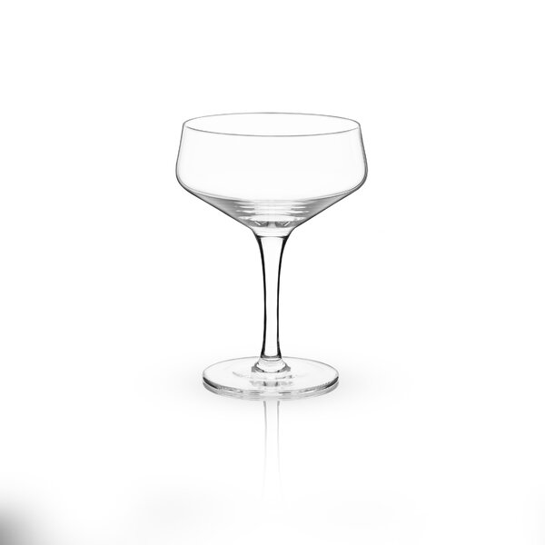 Raye™ Crystal 7 oz. Coupe Glass (Set of 2) by Viski