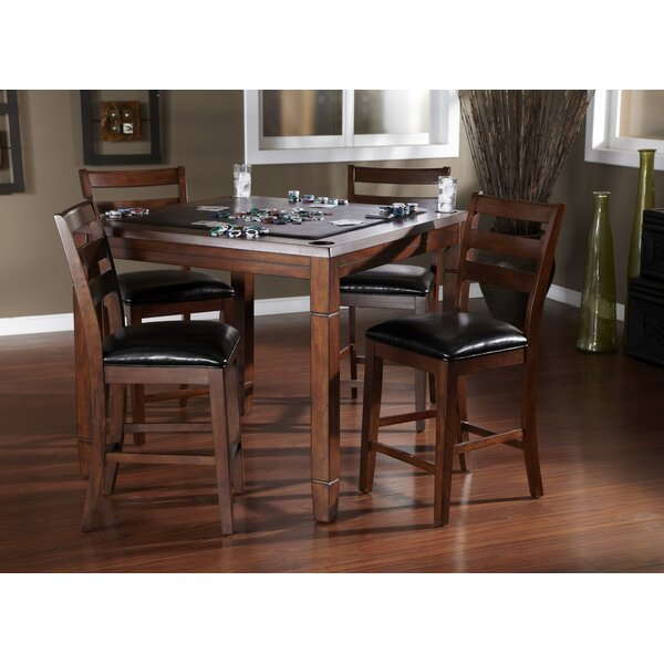 Rosa 5 Piece Counter Height Dining Set by American Heritage