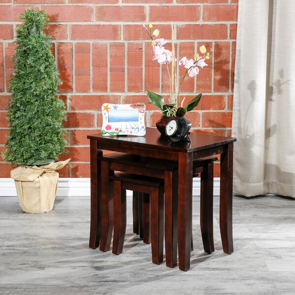 Dillon 3 Piece Nesting Tables By Alcott Hill