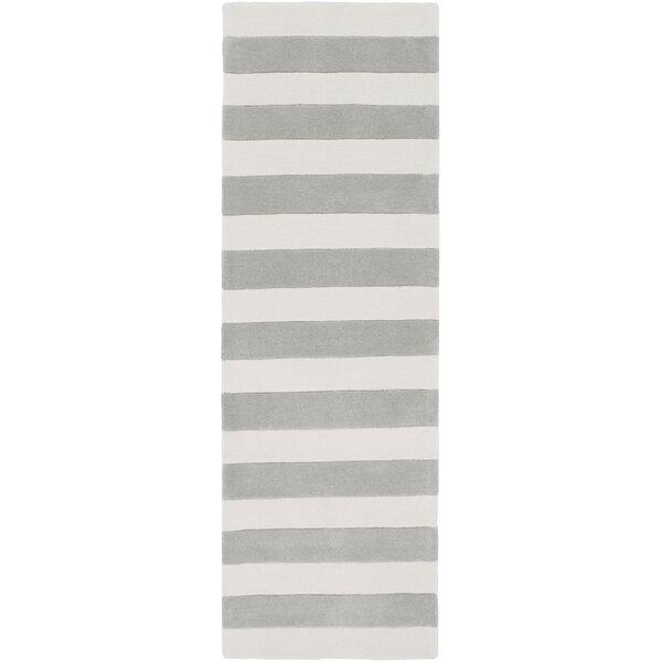 Millington Hand-Tufted Ivory/Gray Area Rug by Latitude Run
