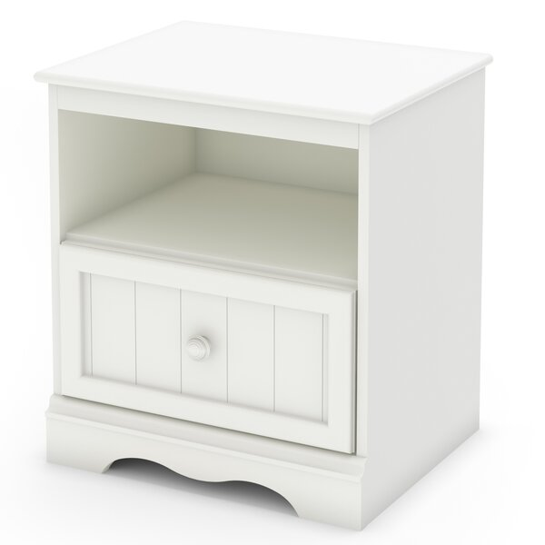 Savannah 1 Drawer Nightstand by South Shore