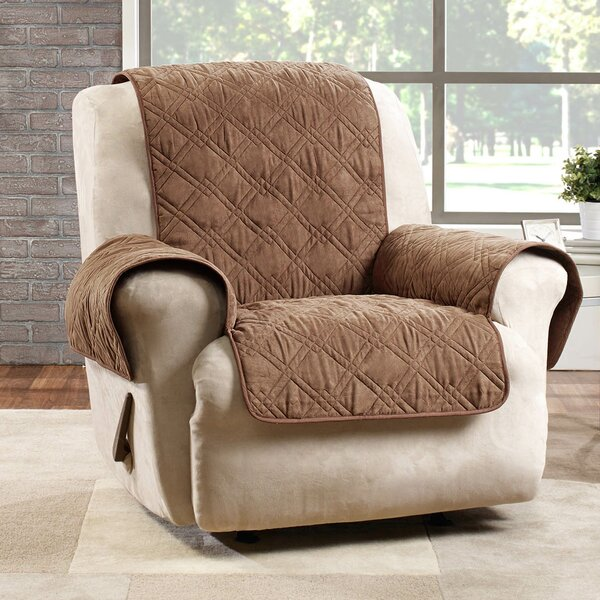 Deluxe Box Cushion Recliner Slipcover by Sure Fit