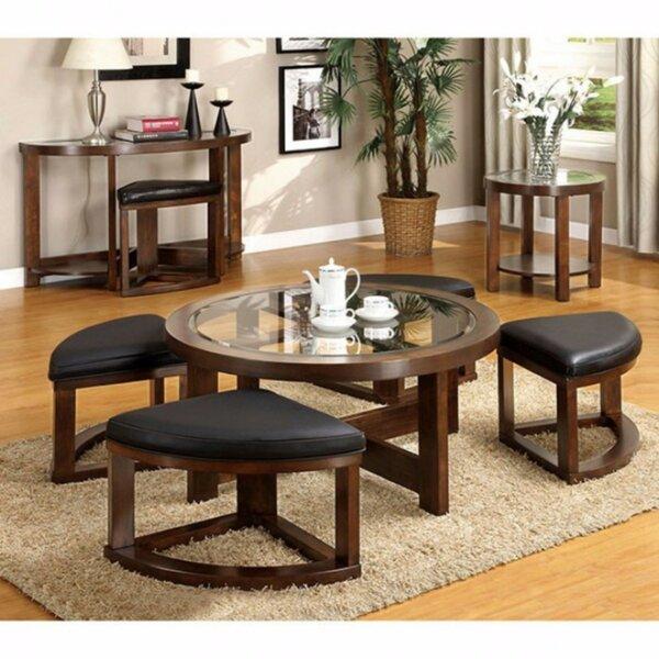 Wellkamp Wooden Coffee Table By Red Barrel Studio