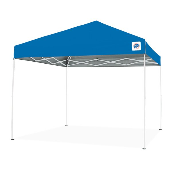 Envoy 10 Ft. W x 10 Ft. D Steel Pop-Up Canopy by E-Z UP