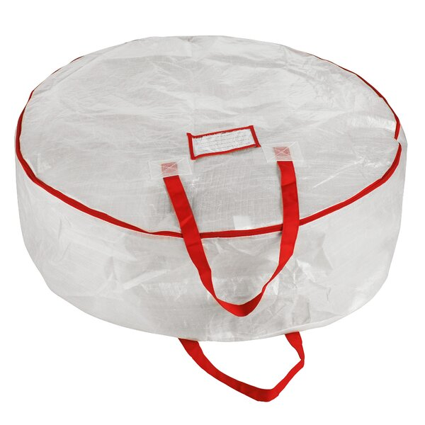 Deluxe Holiday Christmas Wreath Storage Bag by The Holiday Aisle