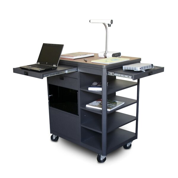 Vizion Presenter Multimedia Cart by Marvel Office Furniture