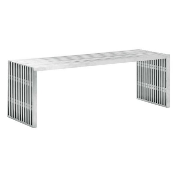 Kassidy Double Metal Bench by 17 Stories 17 Stories