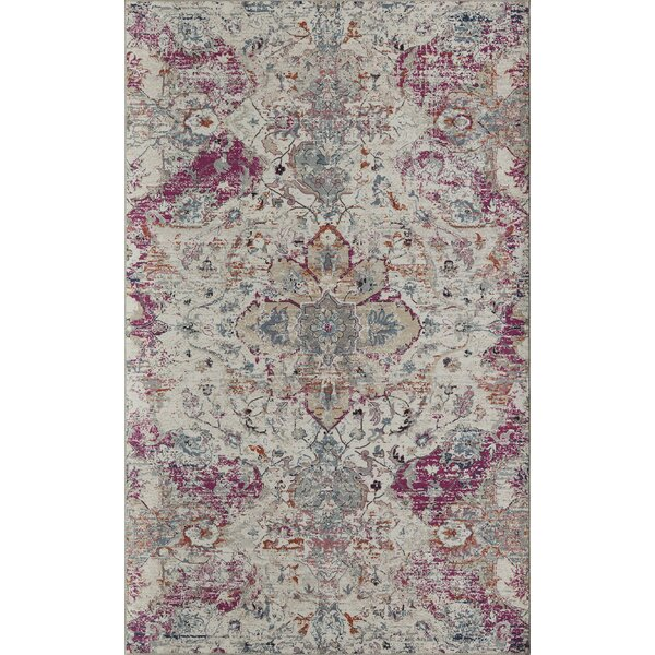 Sasha Ivory Area Rug by CosmoLiving by Cosmopolitan
