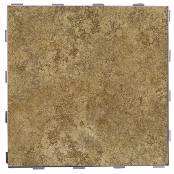 Classic ThinLine 12 x 12 Porcelain Field Tile in Driftwood by SnapStone