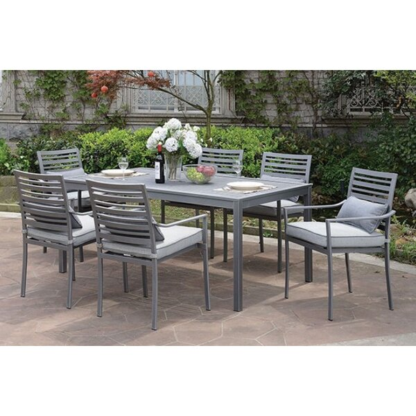 Peggie 7 PC Dining Table Set