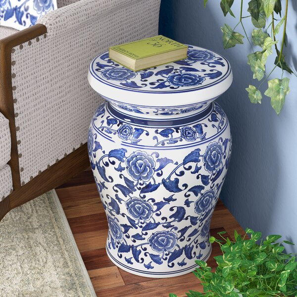 Southsea Ceramic Garden Stool By Charlton Home