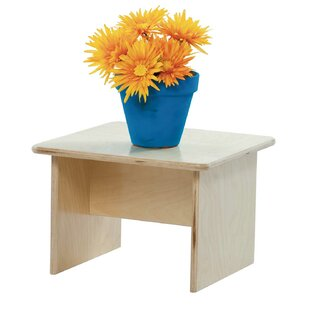 Reviews Children's End Table By Wood Designs