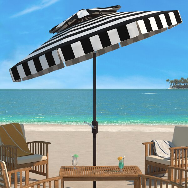 Trainor 8.5' Beach Umbrella By Breakwater Bay