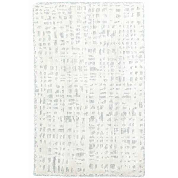 Juno White/Sky Area Rug by Dash and Albert Rugs