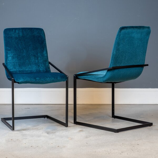 Sariyah Upholstered Dining Chair (Set of 2) by Brayden Studio