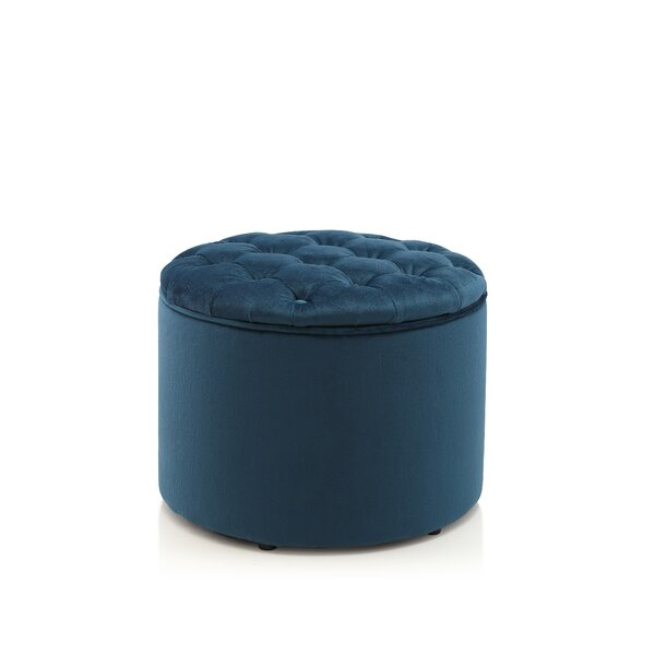 Tufted Storage Ottoman By Meelano New