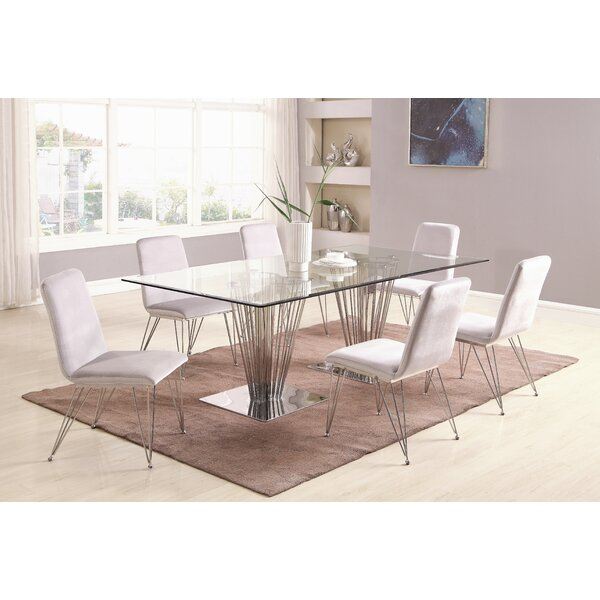 Noah 7 Piece Dining Set by Orren Ellis