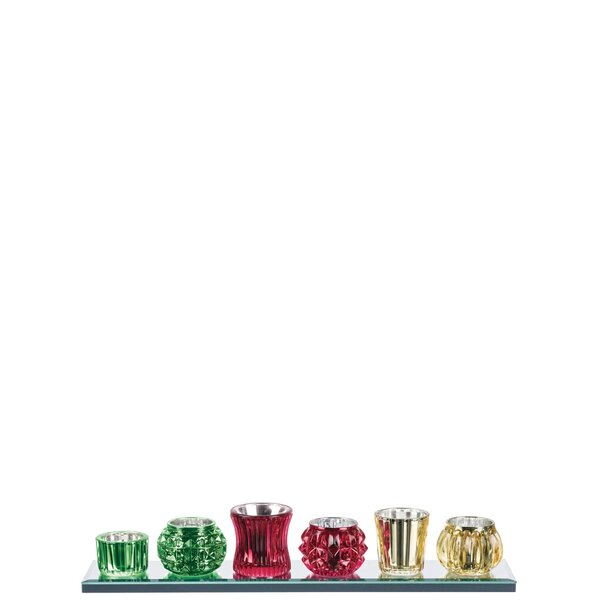 Mattos 6 Piece Votive Tray Set by The Holiday Aisle