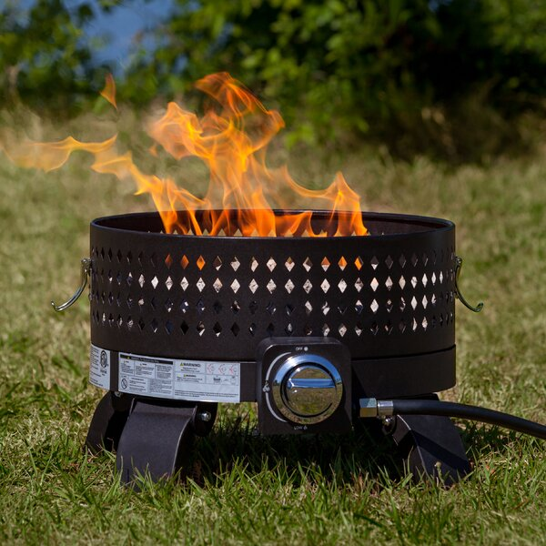 Portable Steel Propane Fire Pit by Fire Sense
