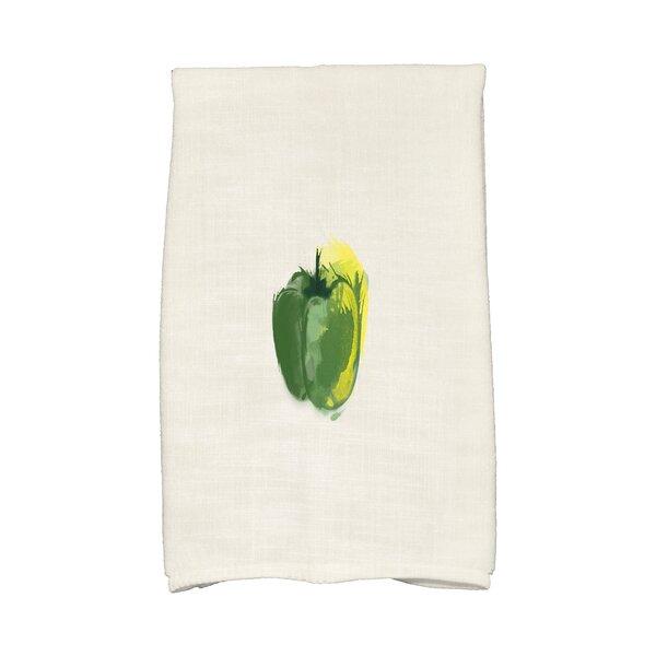 Monroe Pepper Hand Towel by Gracie Oaks