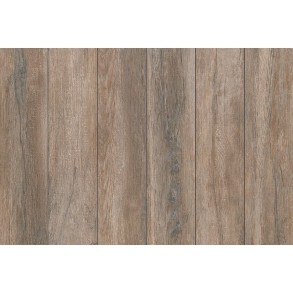Stanbury Glazed 6 x 24 Porcelain Wood Look Tile in Toaster Walnut by Mohawk Flooring