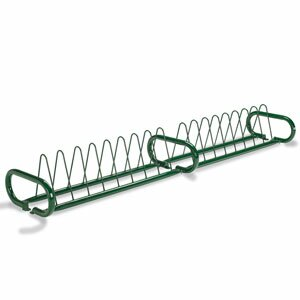 16 Bike Triangular Freestanding Bike Rack by Anova