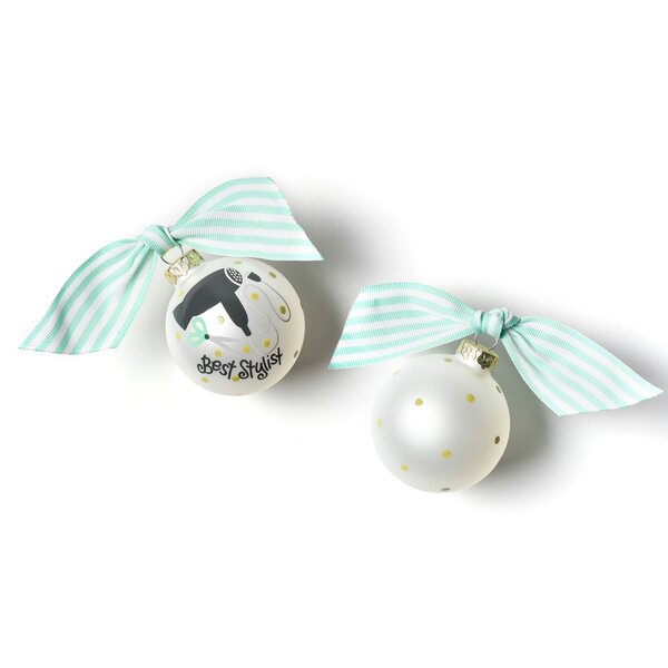 Stylist Glass Ball Ornament by Coton Colors