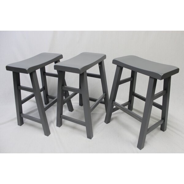 Clowe 29 Bar Stool (Set of 3) by Gracie Oaks