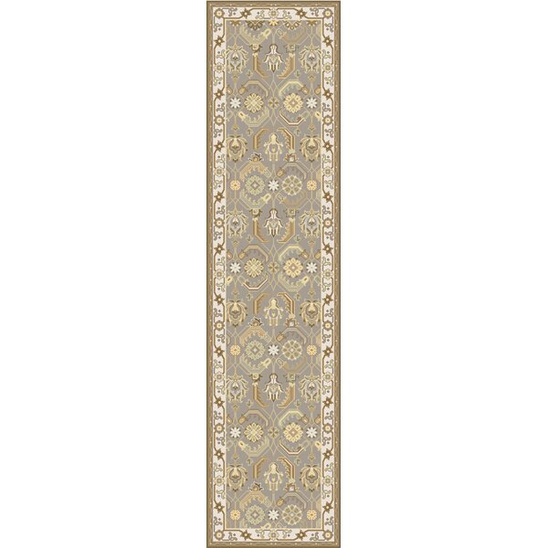 Rupert Beige/Ivory Traditional Area Rug by Charlton Home